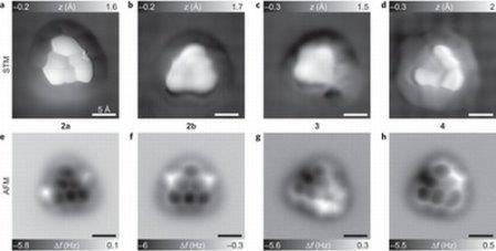 JBM kompaniyasının alimləri nadir üçbucaq molekulun şəklini çəkə bildilər