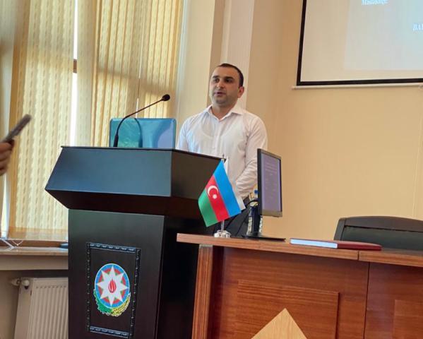 AMEA Kataliz və Qeyri-üzvi Kimya İnstitutunda dissertasiya işininin ilkin müzakirəsi keçirilmişdir.