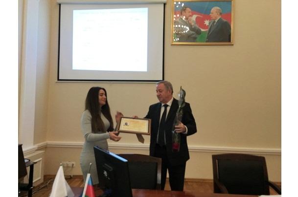 """""""Akademik Murtuza Nağıyev"""" mükafatının təqdimatı olmuşdur"""