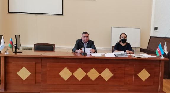 KQKİ-nin doktorantura və dissertanturasına fəlsəfə və elmlər doktoru hazırlığı üzrə təşkil edilmiş qəbul komissiyasının iclası keçirildi.