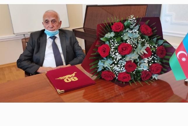 Akademik Ağadadaş Əliyevin 80  illik yubileyi qeyd edildi.