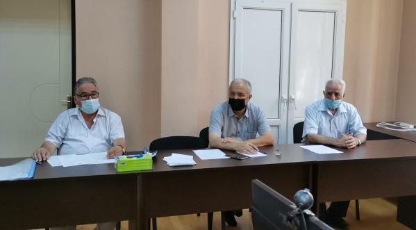 AMEA Kataliz və Qeyri-üzvi Kimya İnstitutunda doktorluq minimum imtahanları keçirilmişdir.