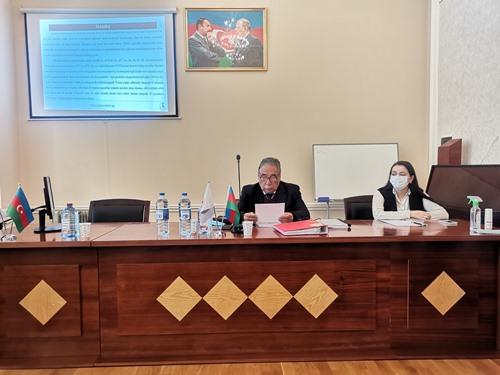 Kataliz və Qeyri-üzvi Kimya İnstitutunun Dissertasiya işinin ilkin müzakirəsi keçiriləcək.
