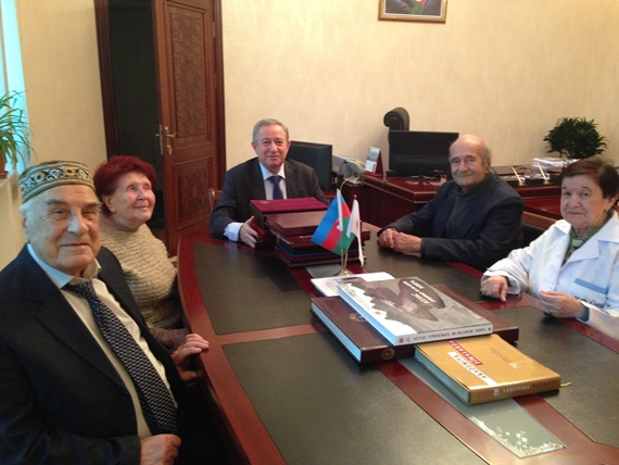 Gratitude for development of science, scientific activities and merits has been announced to 4 employees of the Institute of Catalysis and Inorganic Chemistry of Azerbaijan National Academy of Sciences