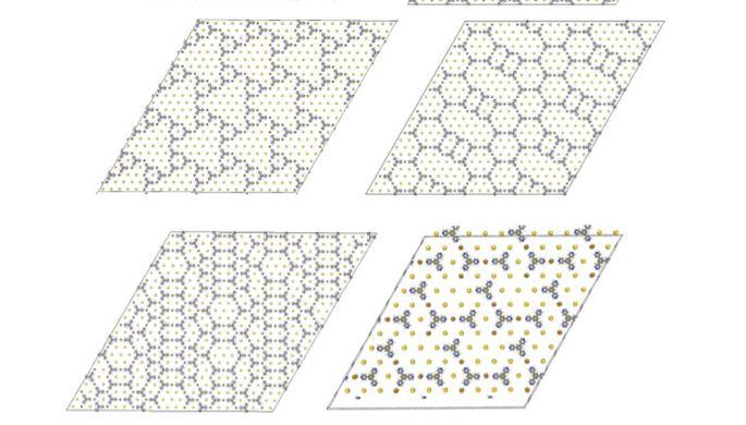 Создан программный комплекс для моделирования самосборки молекулярных слоев
