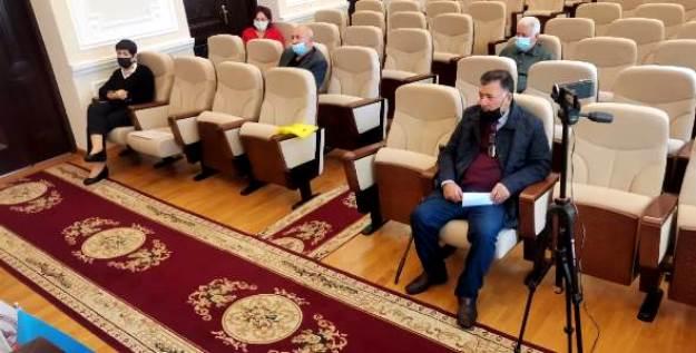 """KQKİ-də """"Qeyri üzvi kimya"""" ixtisası üzrə elmi seminarın iclası keçirilmişdir."""