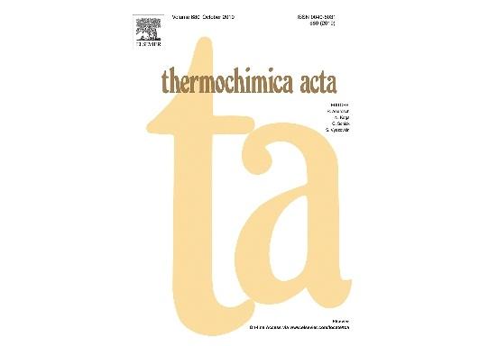 """İnstitutun əməkdaşlarının """"Determination of the thermodynamic functions of bismuth chalcoiodides by EMF method with morpholinium formate as electrolyte"""" məqaləsi Impakt Faktoru 2.251 (CA) olan """"Thermochimica Acta"""" jurnalında dərc olunmuşdur"""