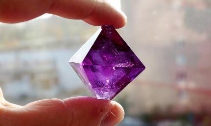 Bənövşəyi duz kristallarını necə almaq olar?