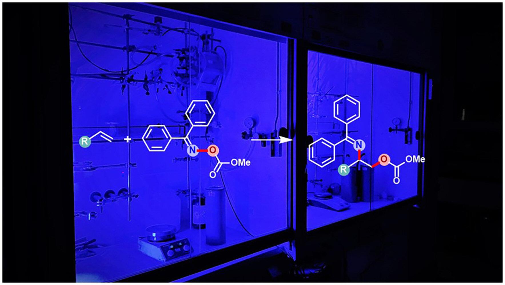 Kimyaçılar işıqdan istifadə edərək amin spirtlərini sintez etdilər