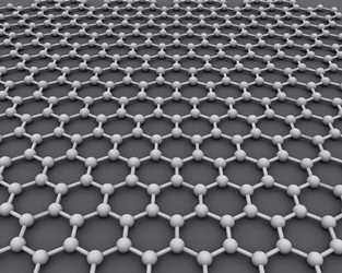 Graphene was able to withstand a high pressure