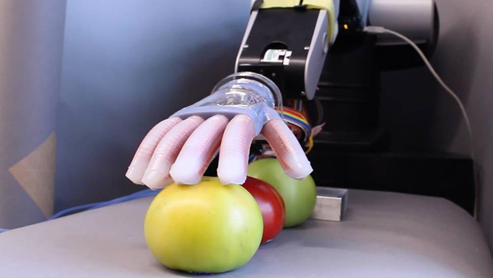 "The Americans developed a ""soft"" robotic arm"