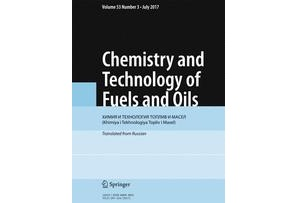 "İnstitutun əməkdaşlarının Impakt Faktorlu (TR) ""Chemistry and Technology of Fuels and Oils"" da ""Modeling and Optimization of Joint Gasoline, Ethane, and Propane Pyrolysis"" məqaləsi dərc olunmuşdur"