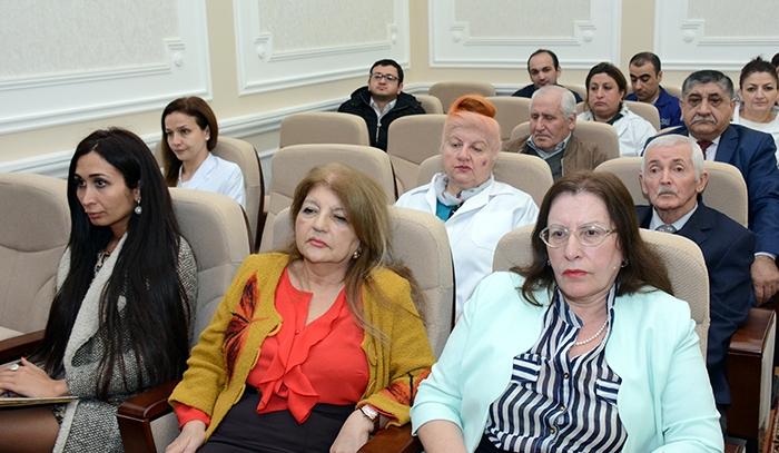 Martın 14-də AMEA akademik M.Nağıyev adına Kataliz və Qeyri-üzvi Kimya İnstitutunda Elmi Şuranın genişləndirilmiş iclası keçirildi