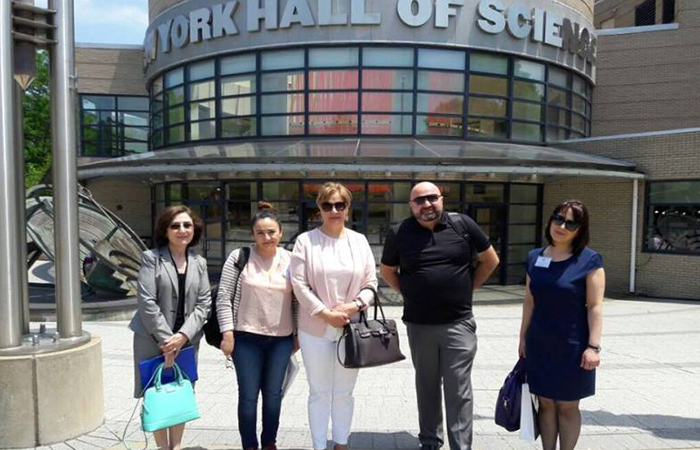 Директор Дома ученых НАНА совершил визит в США