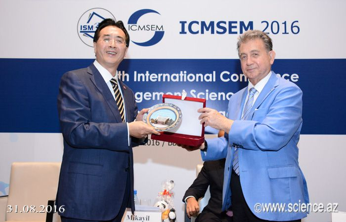 "Baku hosts international conference on ""Management Science and Engineering Management"""