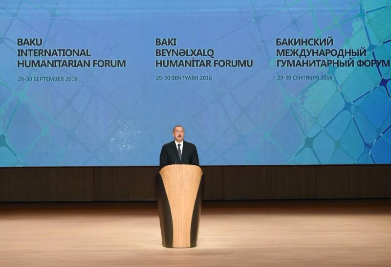 Bakıda V Beynəlxalq Humanitar Forum işə başlayıb