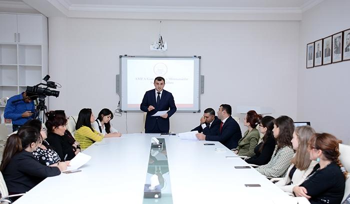 Совет молодых ученых и специалистов НАНА приступил к подготовке отчета текущего года