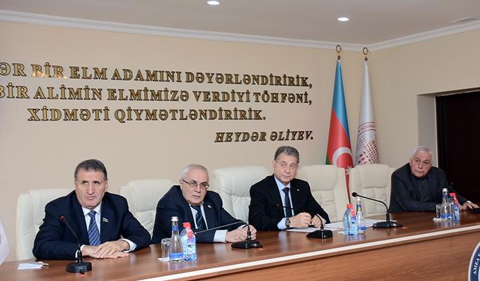 Обсуждены вопросы, касающиеся исполнения Распоряжения о создании Парка высоких технологий НАНА