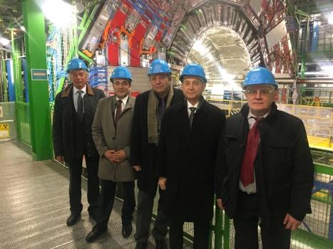 AMEA Avropa Nüvə Tədqiqatları Mərkəzi ilə əməkdaşlığı genişləndirir