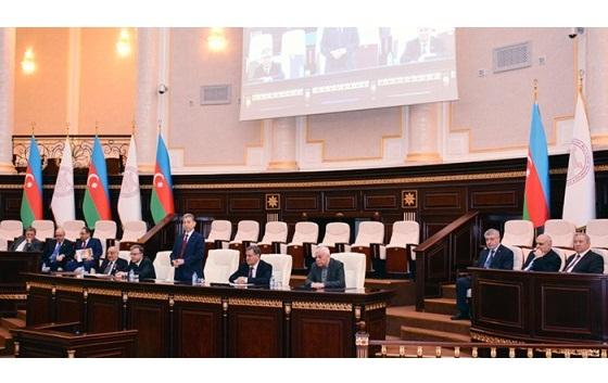 В НАНА отметили 110-летний юбилей академика Гасана Алиева