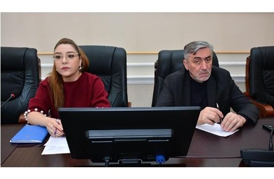 AMEA-da ictimaiyyətlə əlaqələr şöbələrinin illik hesabat iclası keçirilib