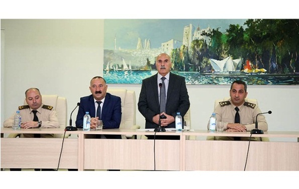 Yanğından mühafizə üsullarına dair seminar-məşğələ keçirilib