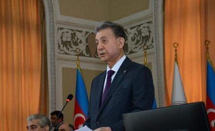 Akademik Akif Əlizadə yenidən AMEA-nın prezidenti seçilib