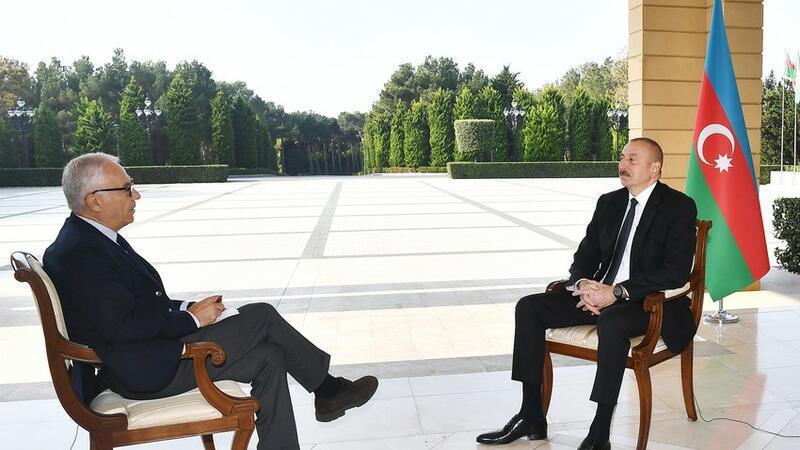 """İlham Əliyev """"La Republica"""" qəzetinə müsahibə verdi"""